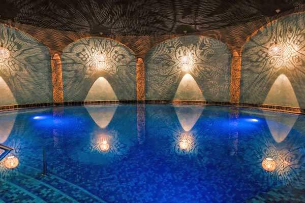 Hamambad van Wellness & Hotel Thermen Bussloo